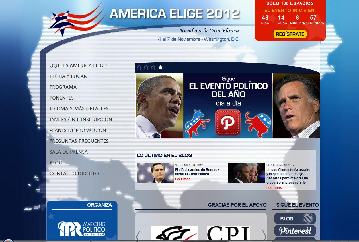 Dónde seguir las Elecciones de los EEUU por Internet