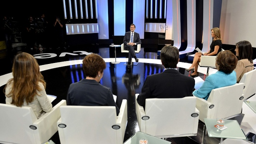 Entrevista a Rajoy en TVE