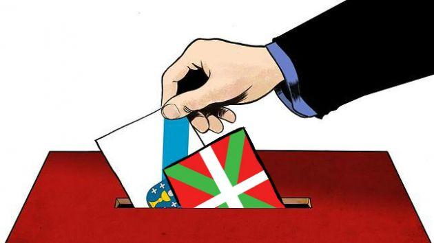 Marketing electoral de contrastes en Galicia y Euskadi