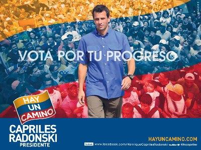 Cartel electoral de Henrique Capriles