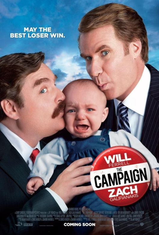 "Cartel de ""The Campaign"""