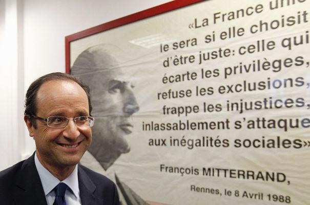 Frase de Mitterrand.