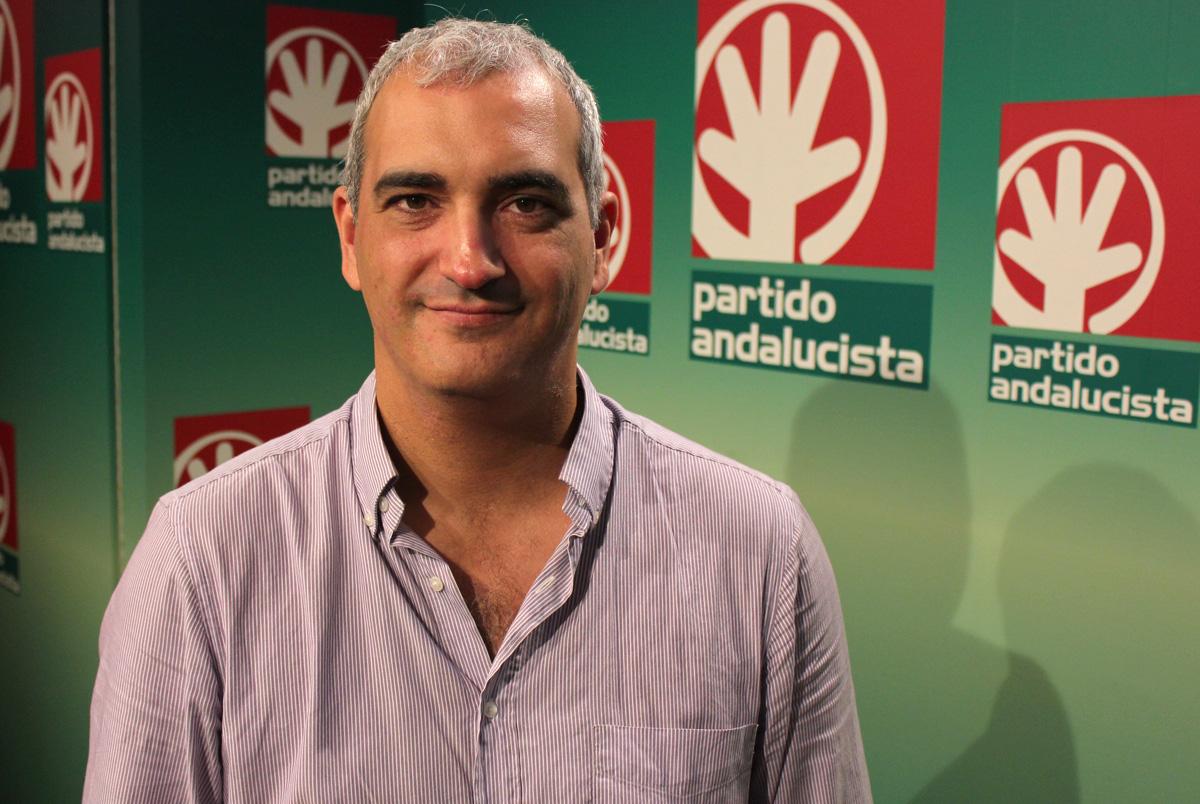 El secretario general de los andalucistas