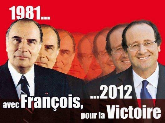 Hollande, heredero de Mitterrand.