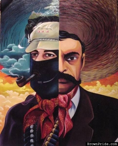 Pintura zapatista