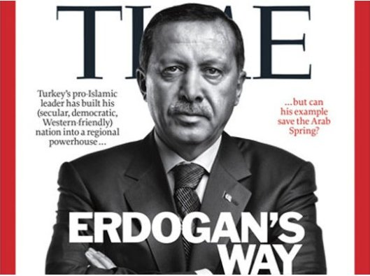 Erdogan en 'Time'
