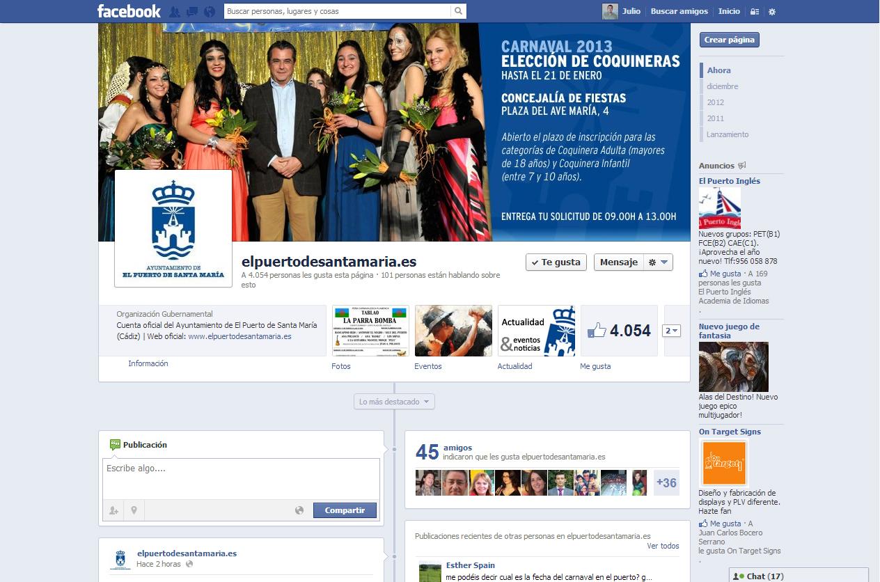 Fanpage de www.elpuertodesantamaria.es