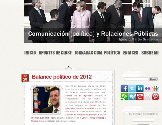 Blog de Ignacio Martín Granados
