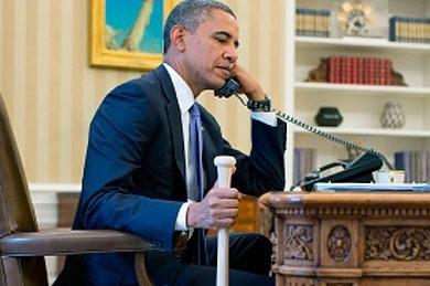 Obama habla sobre el conflicto sirio con Erdogan.