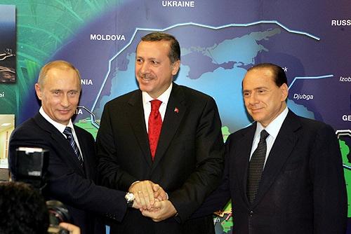 Erdogan en el mapa.