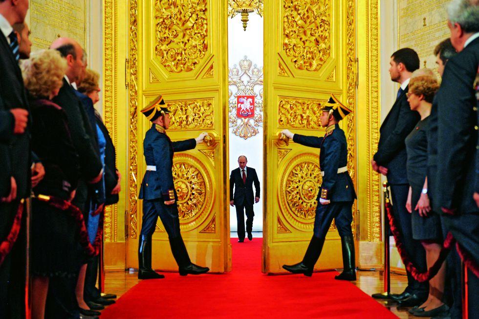 Toma de posesión en Rusia