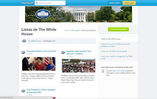 The White House on Foursquare.