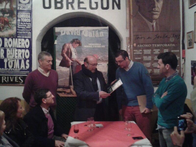 El vicepresidente del Parlamento de Andalucía, protagonista del tercer encuentro de 'Política y Vino'