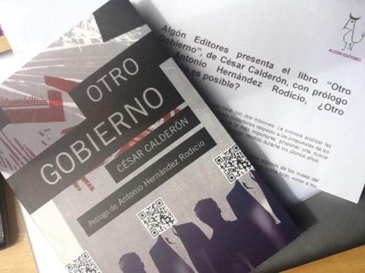 Libro de César Calderón