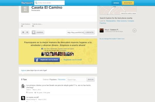 Caseta El Camino