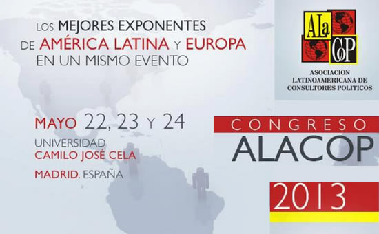 ALACOP 2013 en Madrid.