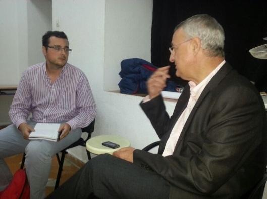 Entrevista a Caldera (PSOE).