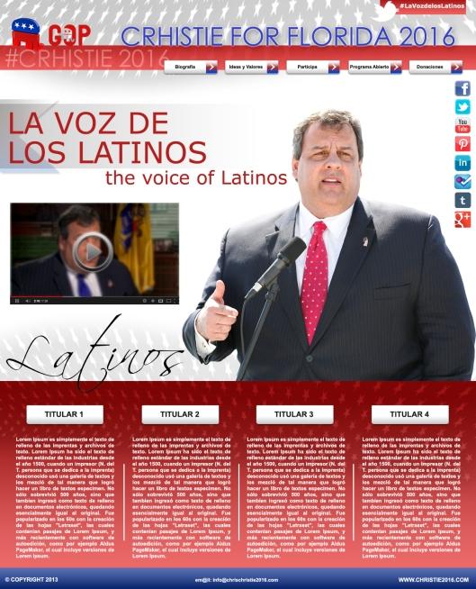 La voz de los latinos.
