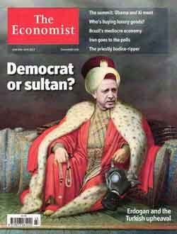 Erdogan en la portada de The Economsit
