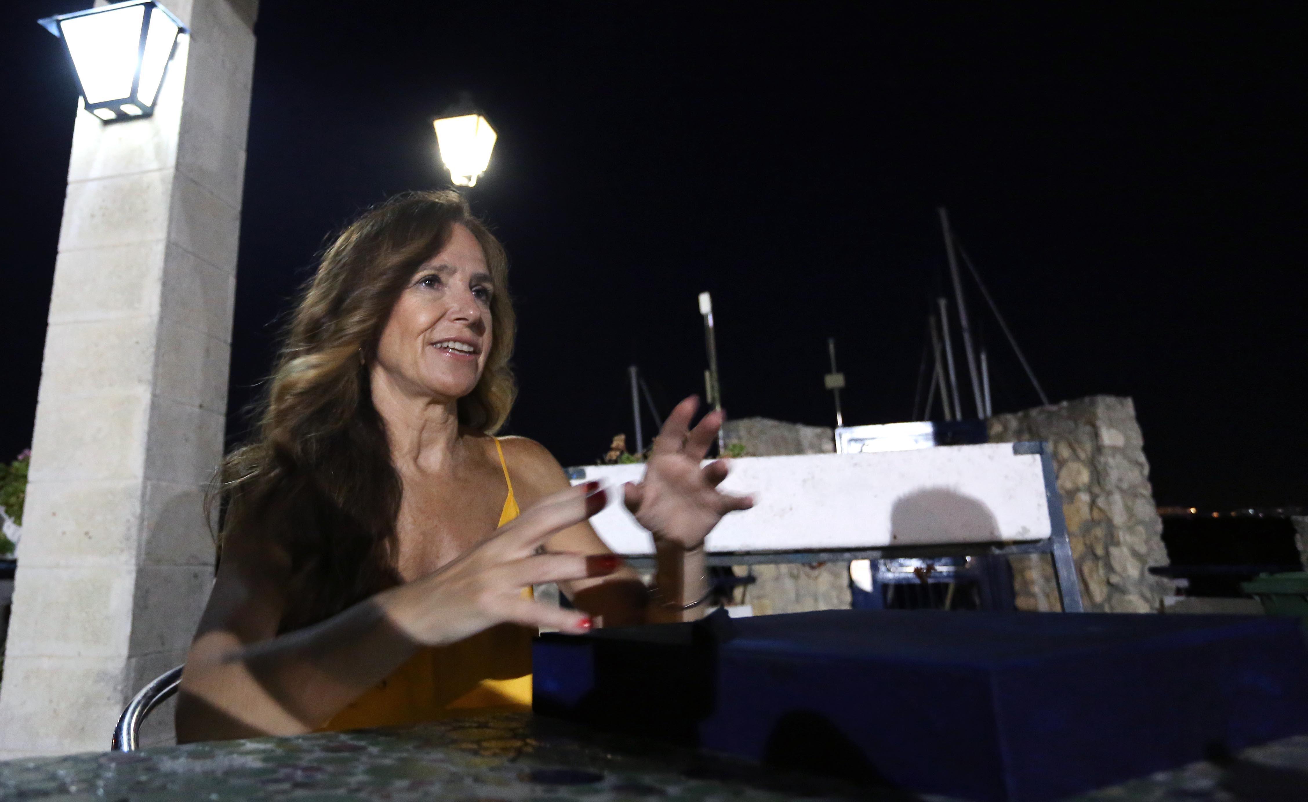 Jiménez-Becerril en el Real Club Náutico.