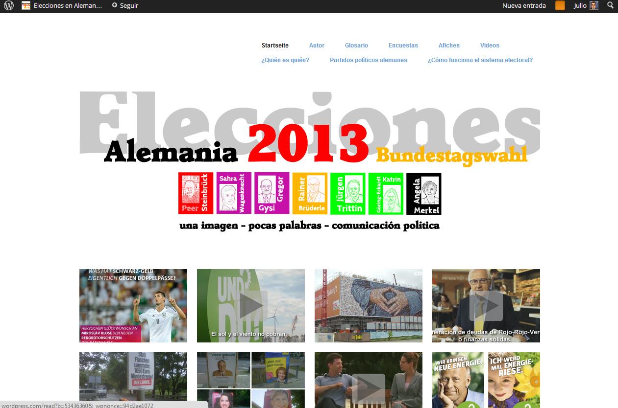 Blog sobre las Elecciones Federales en Alemania.