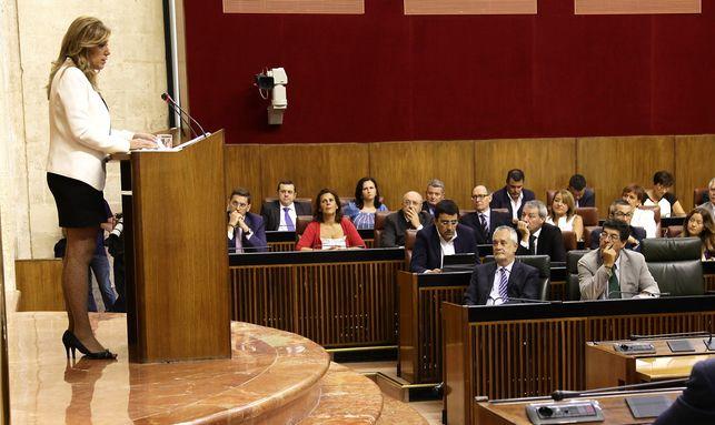Susana Díaz y el Gobierno Abierto en Andalucía