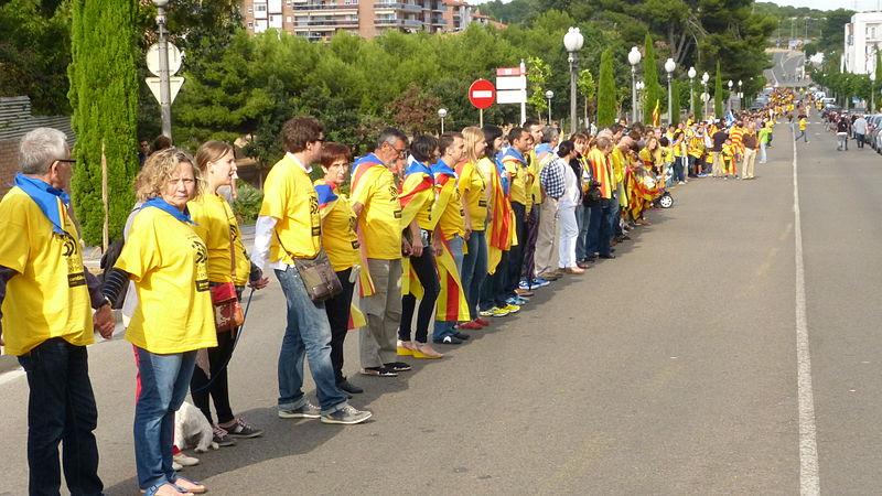 La Vía Catalana, éxito de comunicación