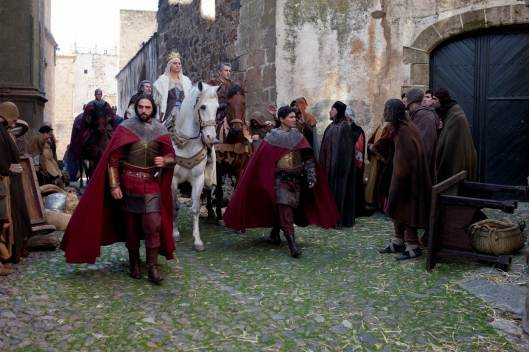 Serie 'Isabel' rodada en Extremadura.