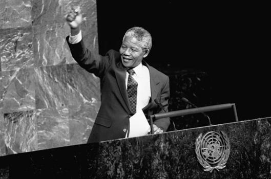 Discurso de Mandela en Naciones Unidas.