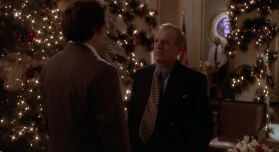 'El ala oeste de la casa Blanca' en Navidad.