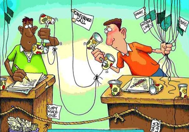 Gabinetes de prens y medios de comunicación.