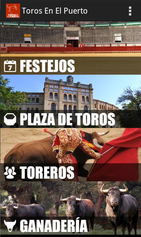 Aplicción Toros en El Puerto para Android