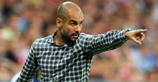 El entrenador del Bayern de Múnich, Josep Guardiola.