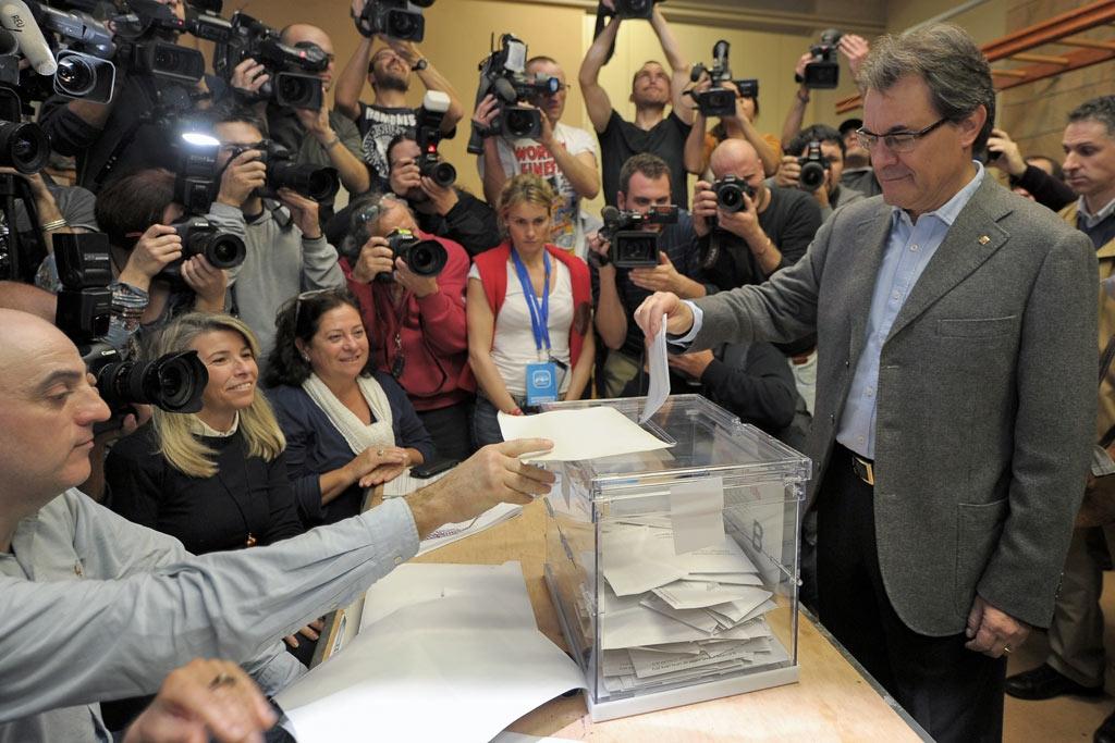 El president de la Generalitar de Catalunya, Artur Mas.