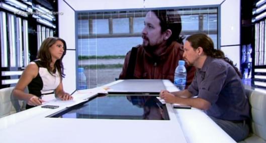 Pablo Iglsias en 'El Objetivo'