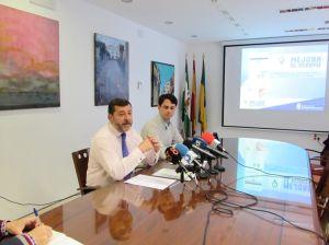 Alfonso Candón y Damián Bornes.