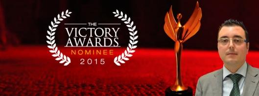 Banner de cabecera como nominado al Victory Awards 2015.