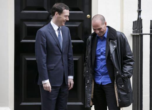 Yannis Varoufakis en Londres.
