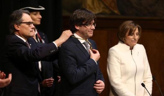 Juramento de Puigdemont