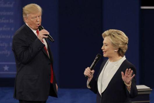 Trump y Hillary