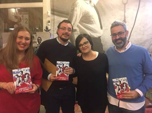 Presentación Política en serie en Madrid