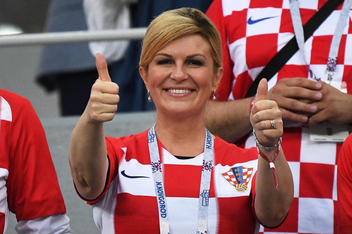 La presidenta croata y la política pop