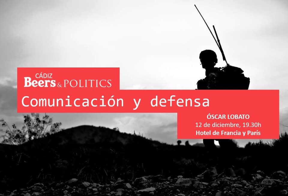 'Beers&Politics' Bahía de Cádiz se consolida con 'Comunicación y defensa'