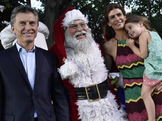 Macri en Navidad