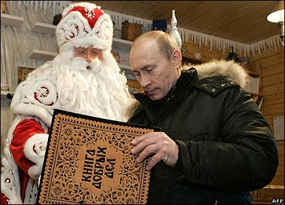 Putin en Navidad