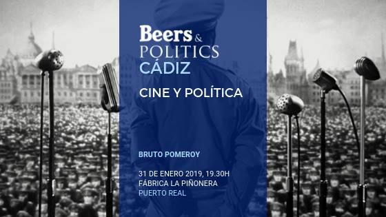 El Séptimo Arte llega al 'Beers&Politics' Bahía de Cádiz